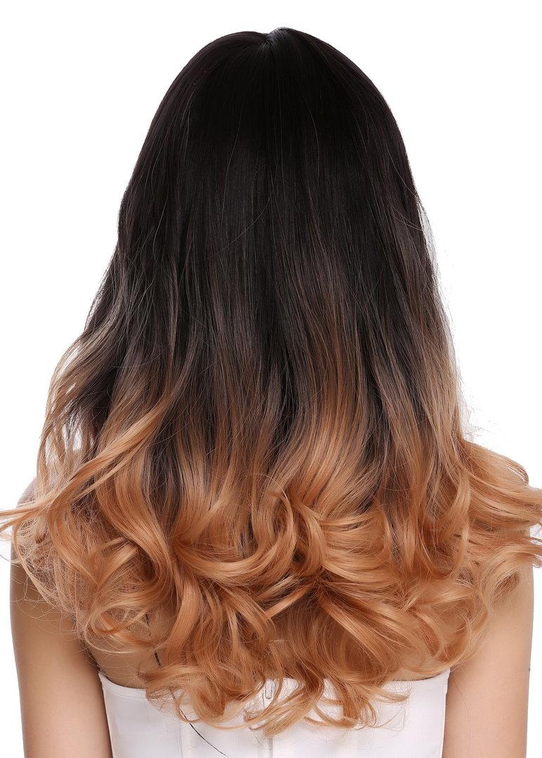 Blond balayage braun Haarfarbe: Balayage