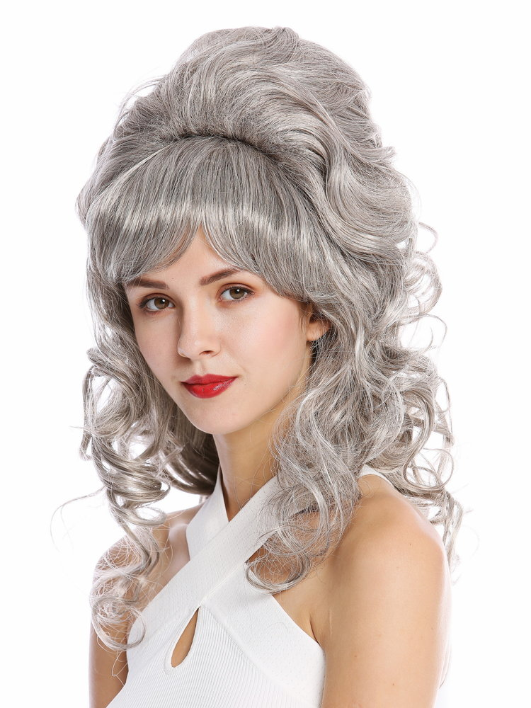 Wig Me Up Gfw2418 51 Quality Lady Wig Baroque 60s Beehive Retro