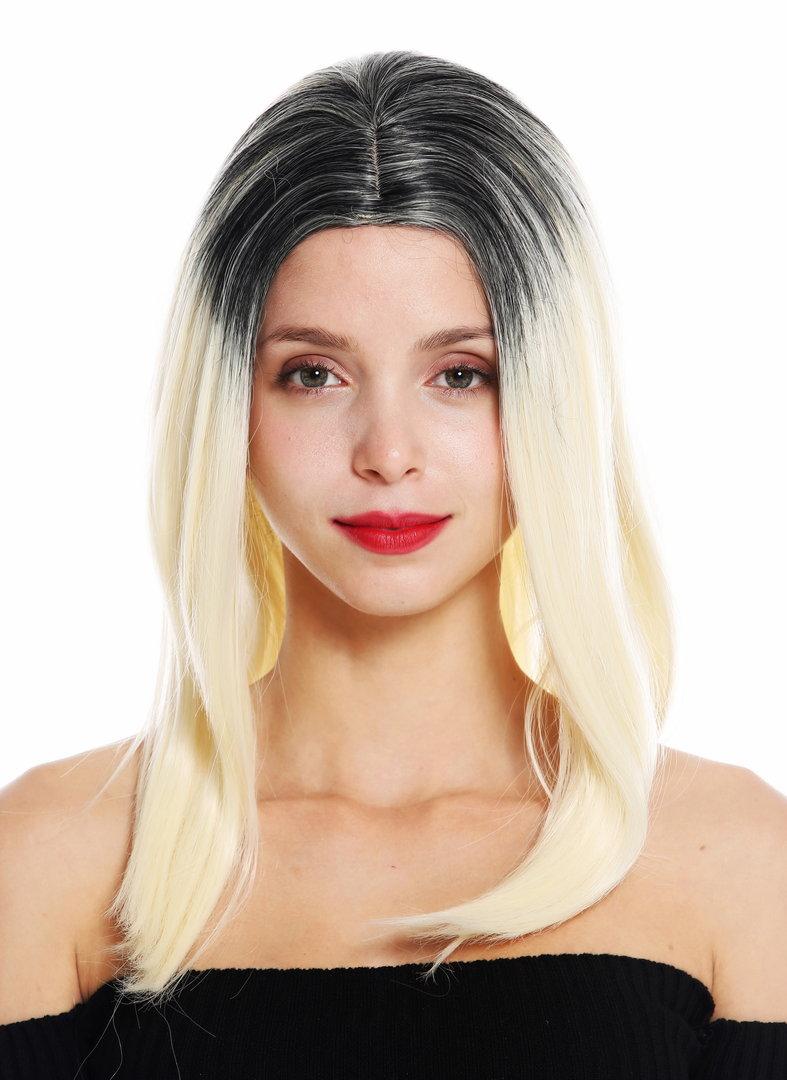 Ombre blond schwarz 40 Glamorous