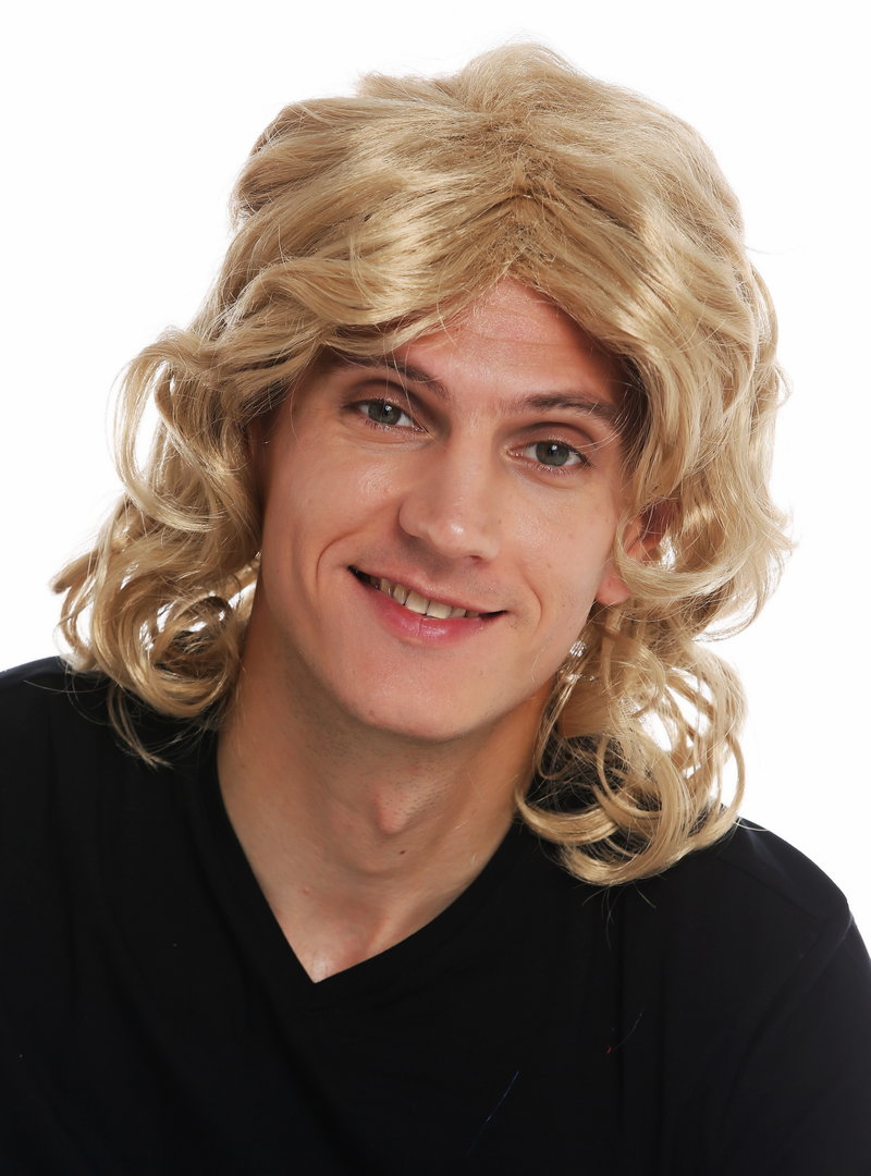 Lange blonde haare männer