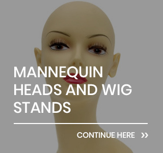 Mannequin Heads and Wig Stands