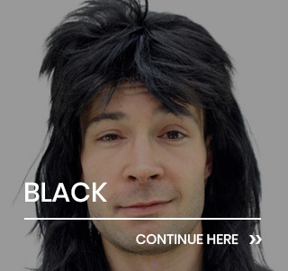 Black Party Wigs