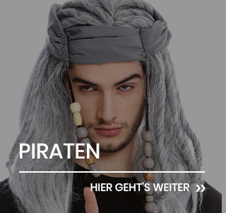 Piraten Perücken